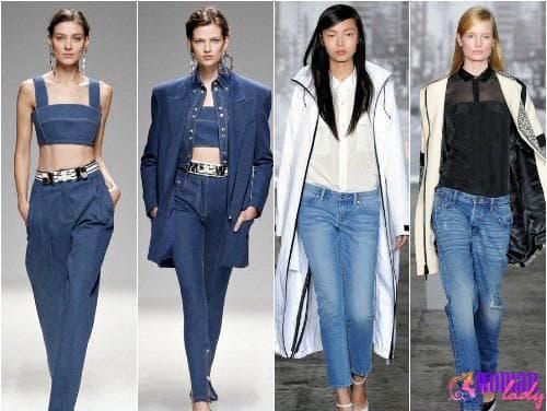 Фасоны джинсов 2013