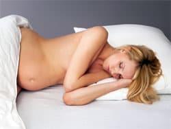 Разрешенные позы для сна во время беременности