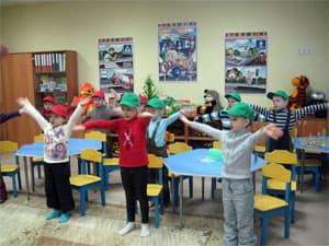 Физкультурные минутки в детском саду