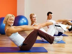 Физическая активность для подтягивания кожи