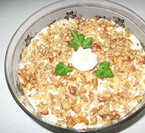 Рецепт салата из куриной грудки с ананасами