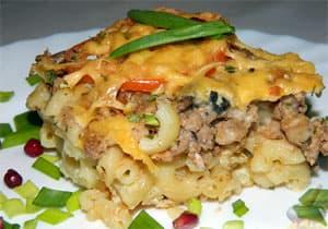 Соус бешамель для мясной запеканки с макаронами