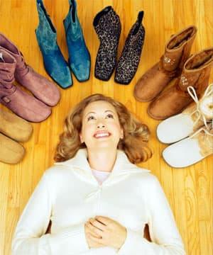 Реанимация замшевой обуви