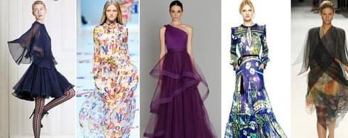 Модные платья осень–зима 2011-2012