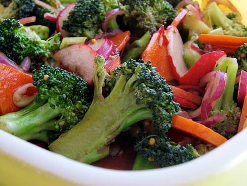 Быстрые маринованные овощи