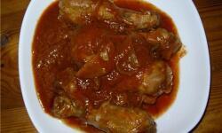 Курица по-турецки в томатном соусе